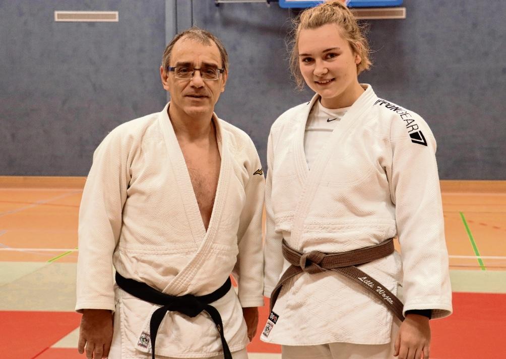 Judoka Lilli Wojta gewinnt DM-Silber